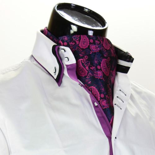 Men`s Floral Paisley Ascot Cravat CH 9080-3