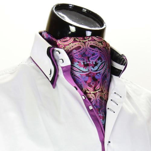 Мужской шейный платок аскот CH 9080-4
