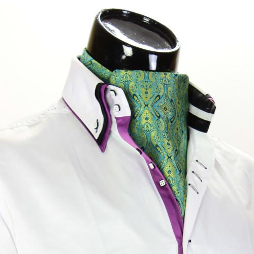 Мужской шейный платок аскот CH 9080-5