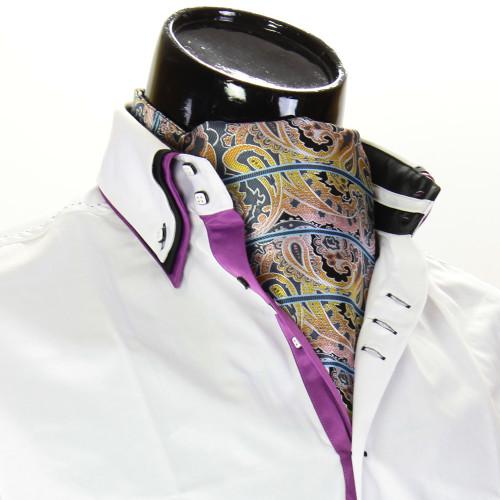 Чоловіча краватка Аскот на шию CH 9080-6