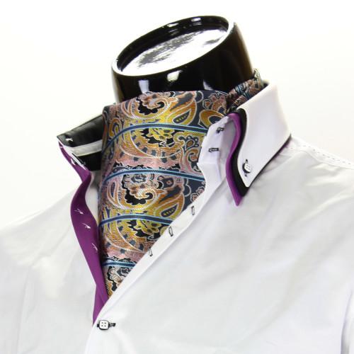 Мужской шейный платок аскот CH 9080-6