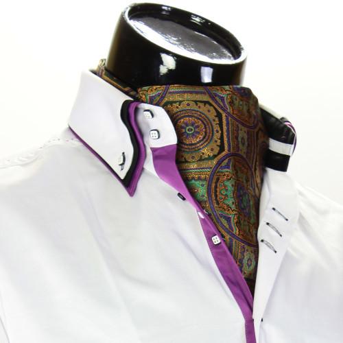 Чоловіча краватка Аскот на шию CH 9080-7