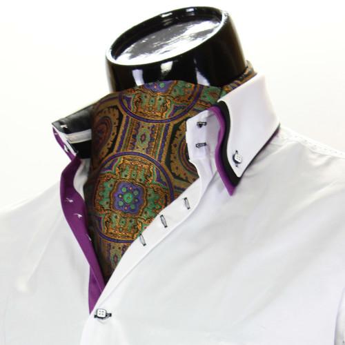 Мужской шейный платок аскот CH 9080-7