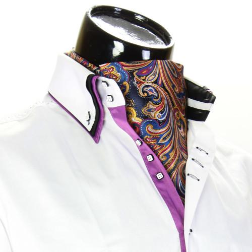 Чоловіча краватка Аскот на шию CH 9050-25