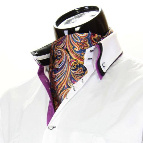 Мужской шейный платок аскот CH 9050-25