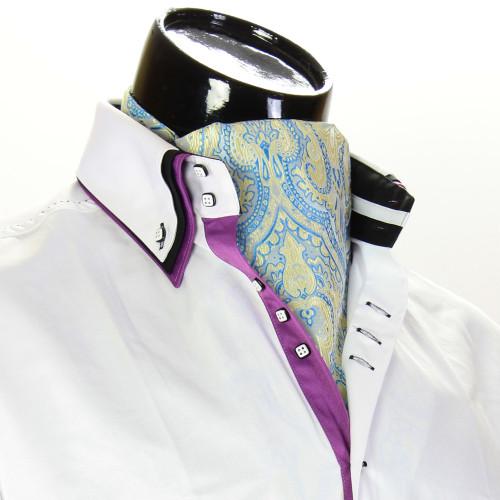 Мужской шейный платок аскот CH 9080-3