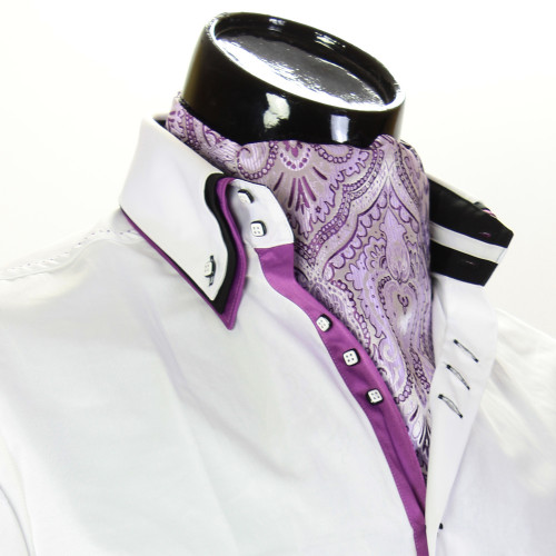 Мужской шейный платок аскот CH 9080-11