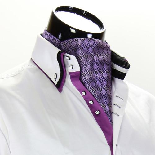 Men`s Pattern Paisley Ascot Cravat CH 9020-2