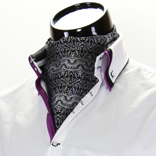 Men`s Pattern Paisley Ascot Cravat CH 9020-3