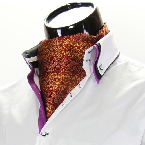 Мужской шейный платок аскот CH 9020-4