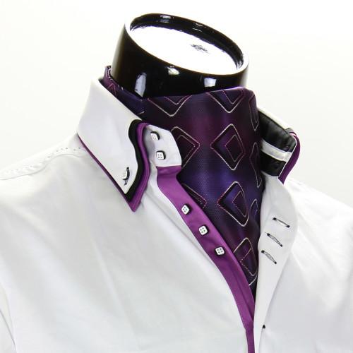 Men`s Pattern Paisley Ascot Cravat CH 9020-8