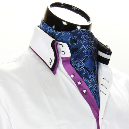 Чоловіча краватка Аскот на шию CH 9080-12