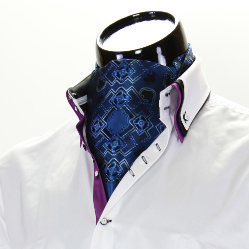 Мужской шейный платок аскот CH 9080-12