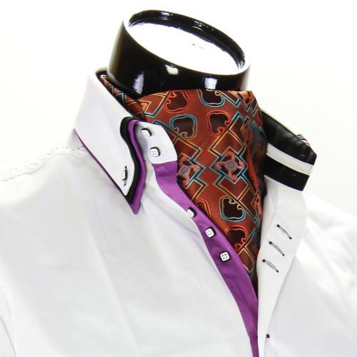 Мужской шейный платок аскот CH 9080-13