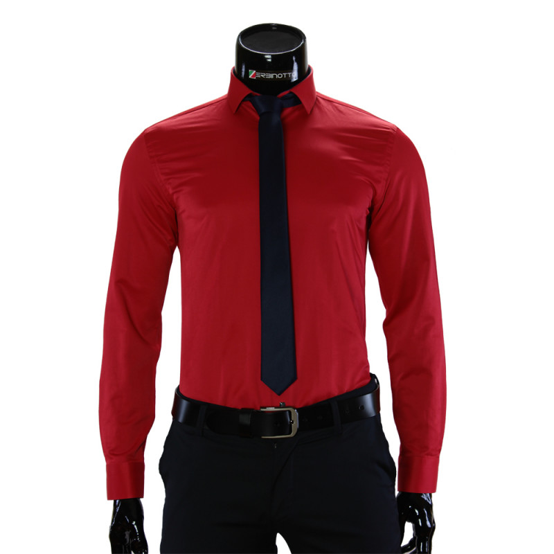 Pure Cotton Plain Classic Shirt GF 7037-1