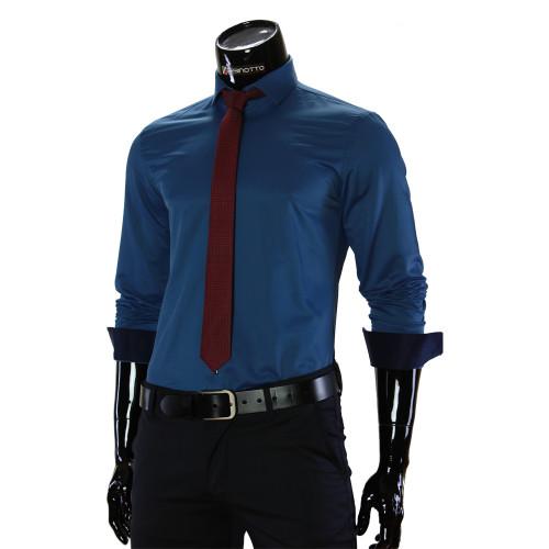 Чоловіча однотонна сорочка GF 7037-2