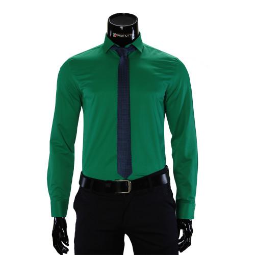 Мужская однотонная рубашка GF 7037-3