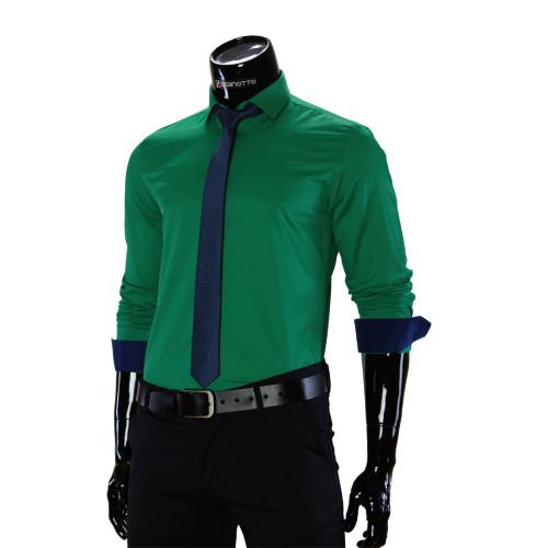 Pure Cotton Plain Classic Shirt GF 7037-3