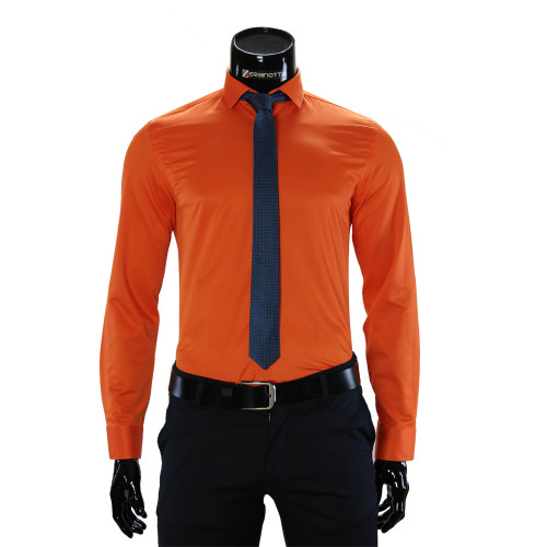 Чоловіча однотонна сорочка GF 7037-4