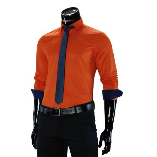 Pure Cotton Plain Classic Shirt GF 7037-4