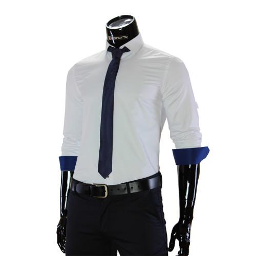 Мужская однотонная рубашка GF 7037-5