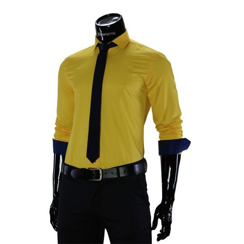 Pure Cotton Plain Classic Shirt GF 7037-6
