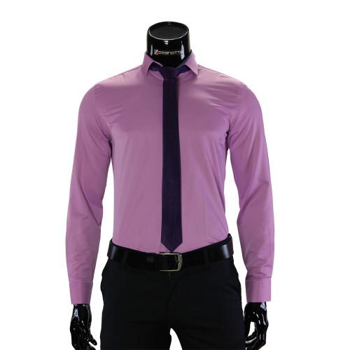 Мужская однотонная рубашка GF 7037-10