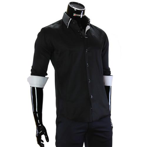Satin Cotton Plain Shirt MM 1960-17