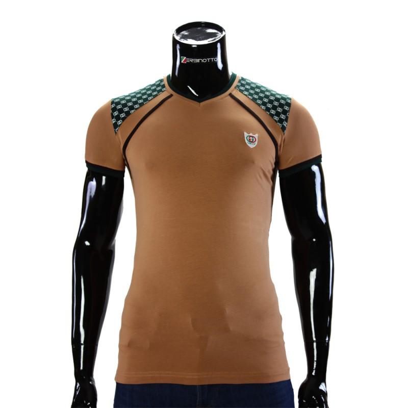 Чоловіча пісочна футболка GU 5009. Купити футболку недорого. 17416ad9170e4