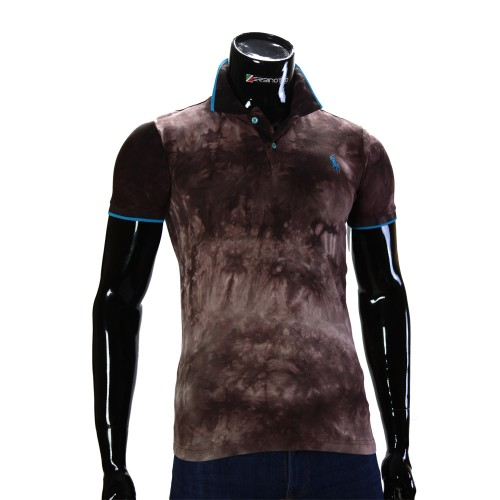 Мужская рубашка поло D 2007-4