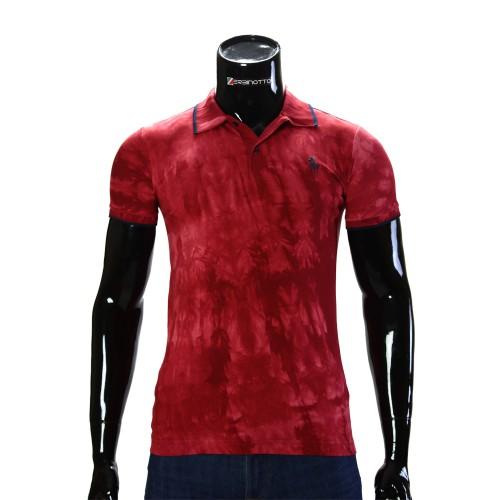 Stretch Red T-shirt Polo Ralph Lauren D 2007-5