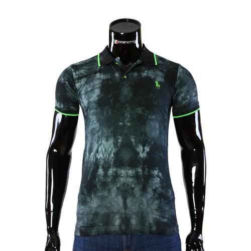 Мужская рубашка поло D 2007-7