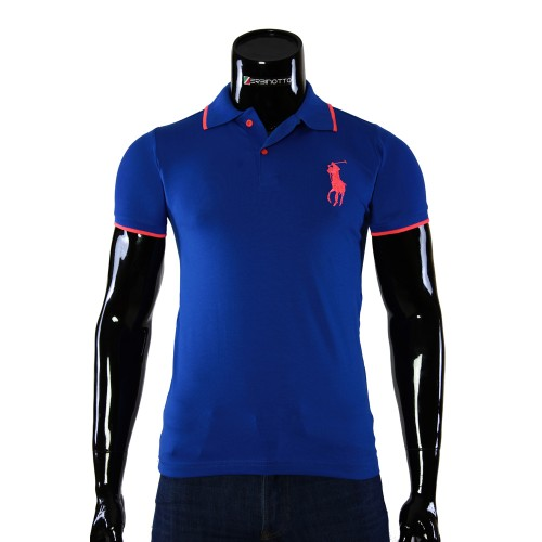 Stretch Blue T-shirt Polo Ralph Lauren D 2008-3