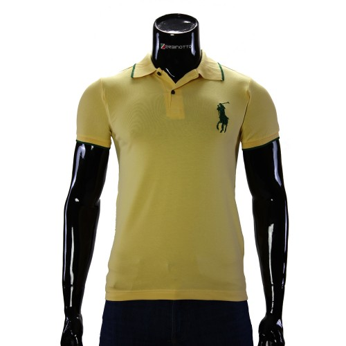 Stretch Yellow T-shirt Polo Ralph Lauren D 2008-6
