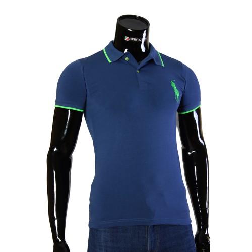 Мужская рубашка поло D 2008-7