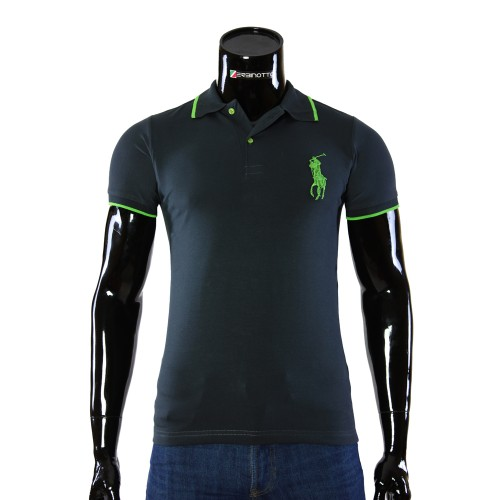 Stretch Graphite T-shirt Polo Ralph Lauren D 2008-10
