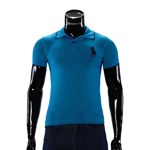 Stretch Blue T-shirt Polo Ralph Lauren D 2008-12