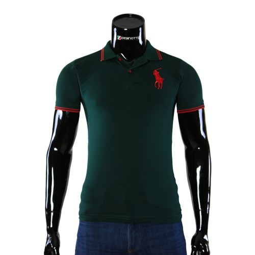 Stretch Green T-shirt Polo Ralph Lauren D 2008-13