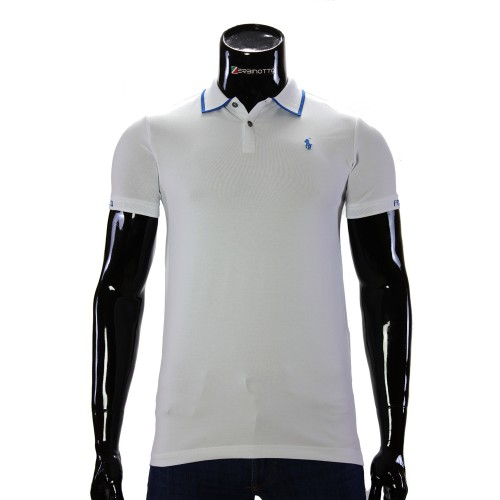 Stretch White T-shirt Polo Ralph Lauren TS 50-1