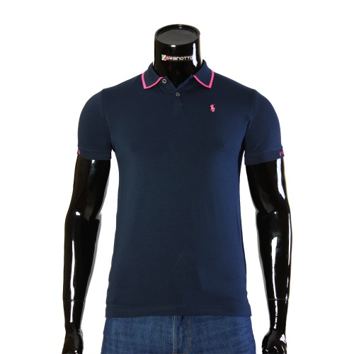 Stretch Navy T-shirt Polo Ralph Lauren TS 50-2