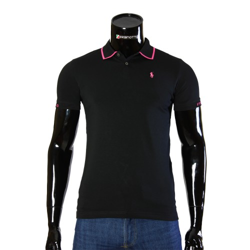Stretch Black T-shirt Polo Ralph Lauren TS 50-4