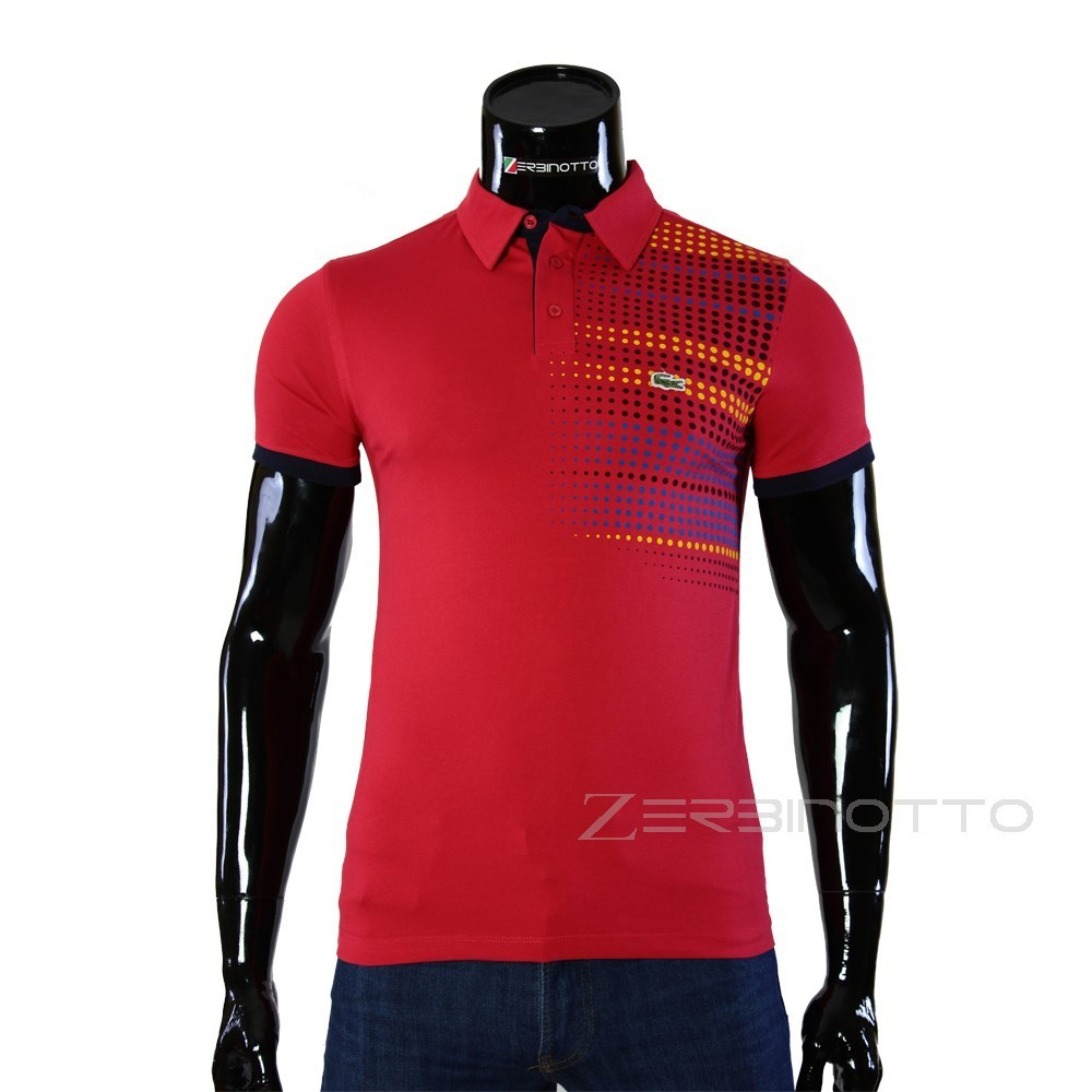 Mens Red Polo Shirt 0104 6 2 Buy Lacoste Polo T Shirt