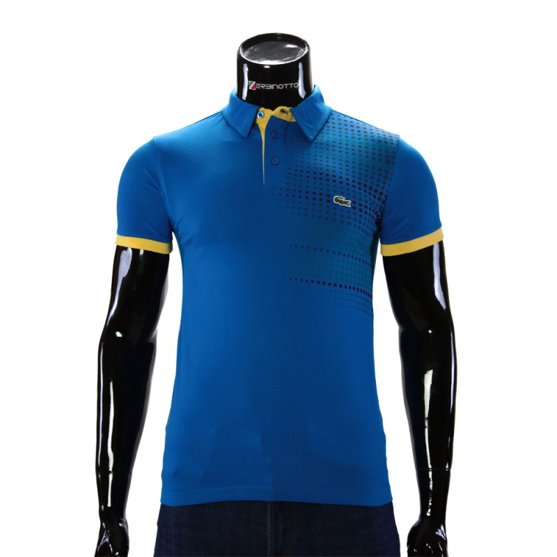 11a3737be849f Men s blue polo shirt 0104-6-3. Buy Lacoste polo T-shirt.