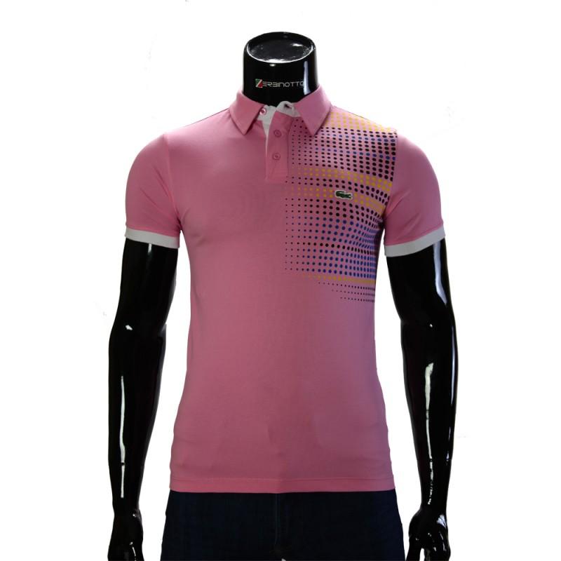 ecde7db09d99 Men s Pink Polo T-Shirt 0104-6-5. Buy Lacoste polo T-shirt.