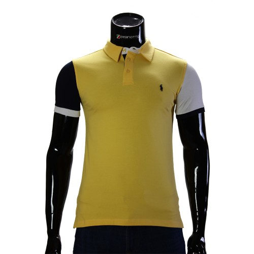 Cotton Yellow T-shirt Polo Ralph Lauren 0104-9-5