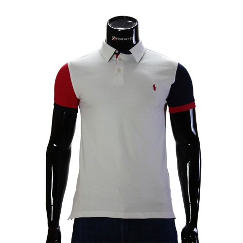 Cotton White T-shirt Polo Ralph Lauren 0104-9-1