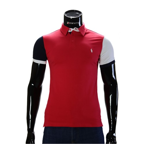Cotton Red T-shirt Polo Ralph Lauren 0104-9-6