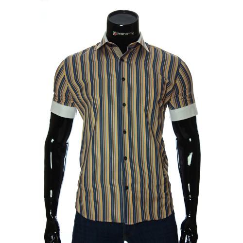 Men's striped shirt Short Sleeve BEL 921-12