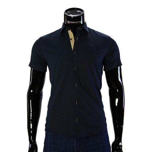 Men's pattern shirt Short Sleeve BEL 932-13