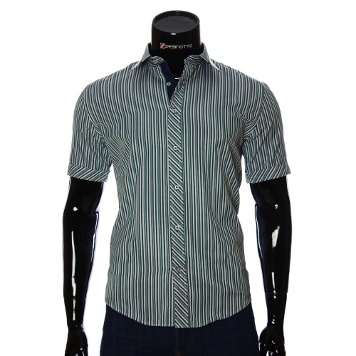 Men's striped shirt Short Sleeve GF 2066-4